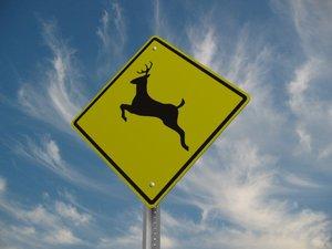 deer street sign 3ds