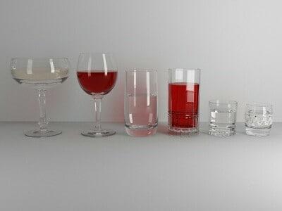 3d glasses 6 pics model