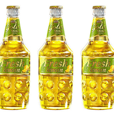 3d model beer fresh limon