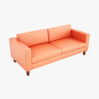 karlstad loveseat 3d model