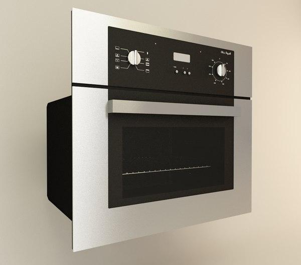 3d inbuilt oven