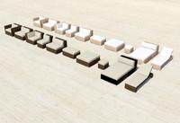 furniture serie design 3d 3ds
