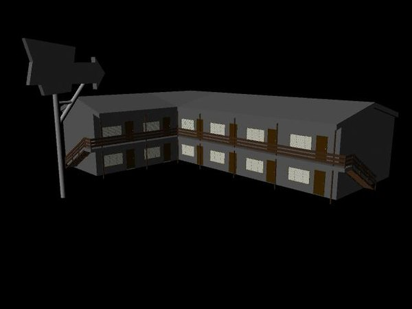 3d motel