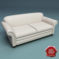 3d model sofa slassic v6