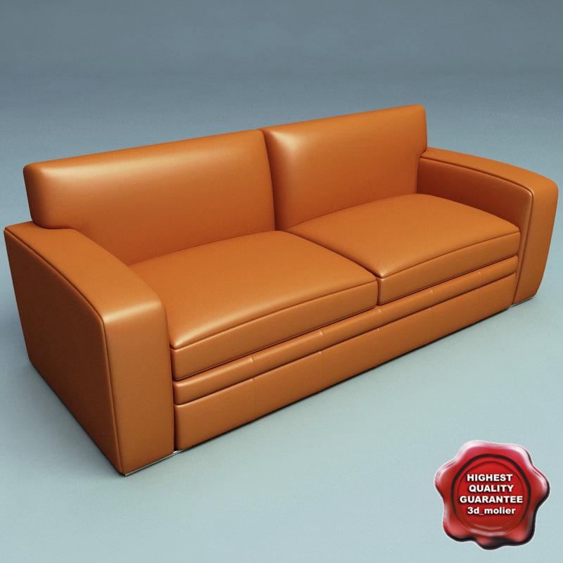 sofa v33 3d model