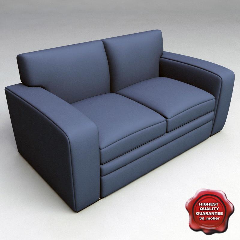3d sofa v3 model