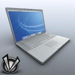 3d mac macbook pro model