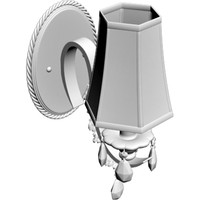 3d model wall sconce