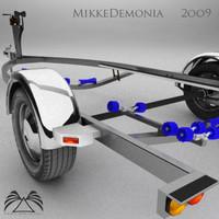 max boat trailer