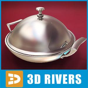 3d max dish cover