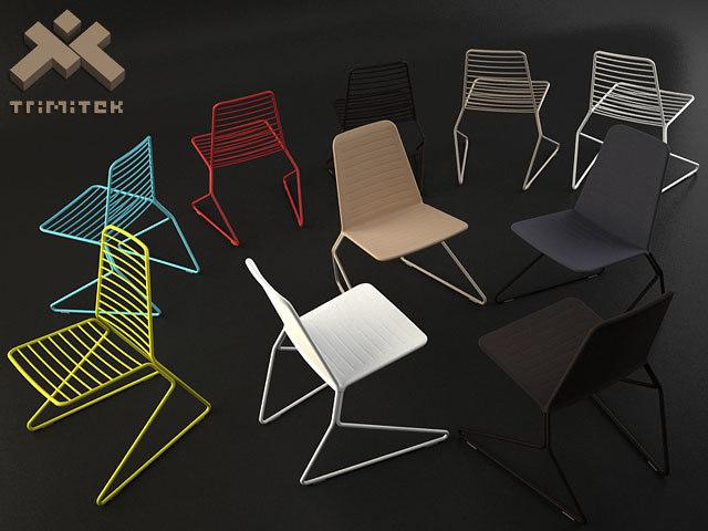 3d drake chair model