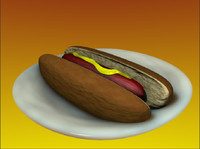 lightwave hot dog