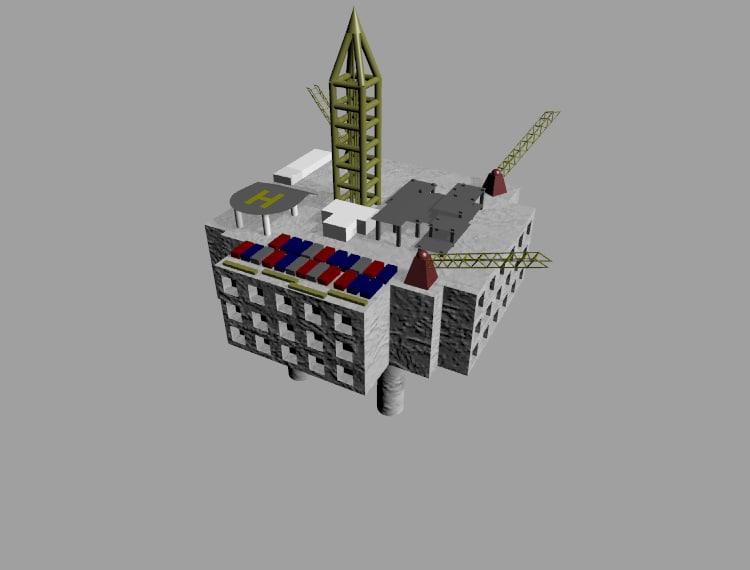 free 3dm mode oil platform