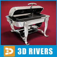 Rectangular chafing dish by 3DRivers