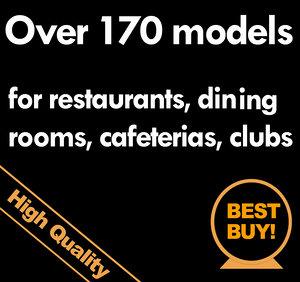 max restaurants bars tableware