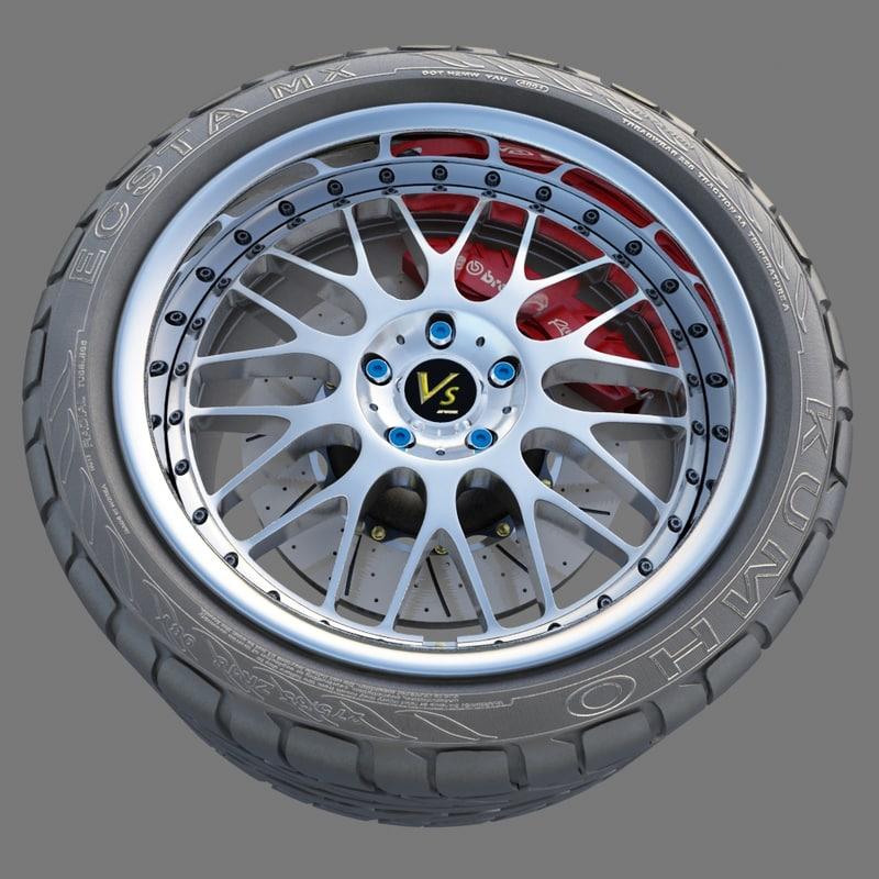 max wheel tire vs