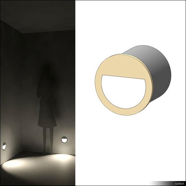 recessed wall lamp 3d model