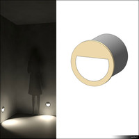 recessed wall lamp 3d model