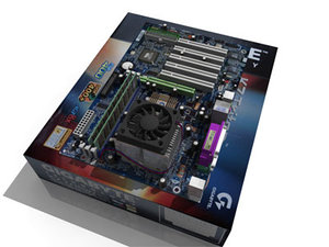 3d model gigabyte motherboard