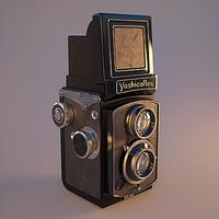 Yashicaflex TLR Camera