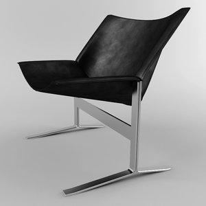 sling chair 3d model
