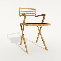 modern design chair 3d model
