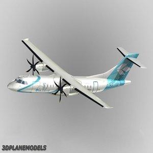3d atr 42-500 air dolomiti model