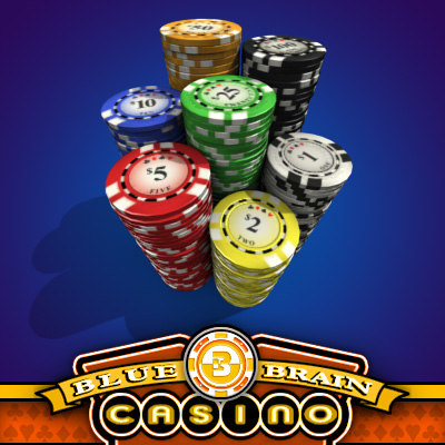 vegas casino poker chips 3d max