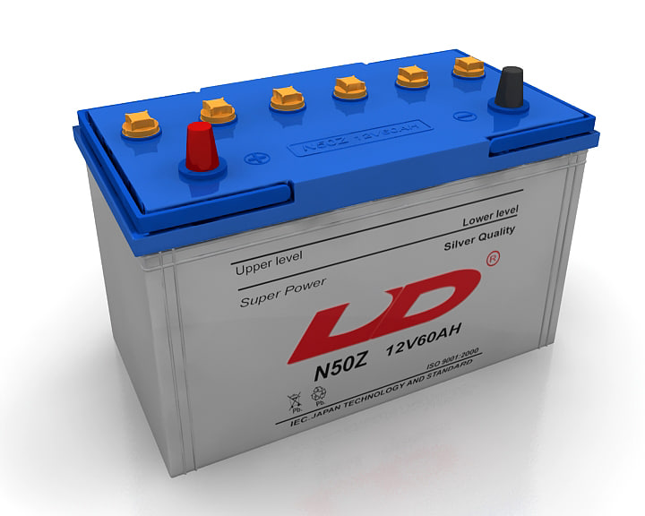 3d model car battery
