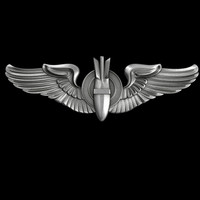 US Air Force Bombardier Badge