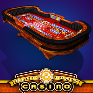 craps table 3d 3ds
