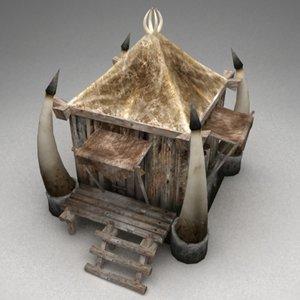 fantasy hut max