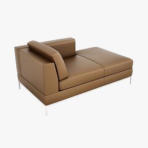 ikea arild hand chaise 3ds