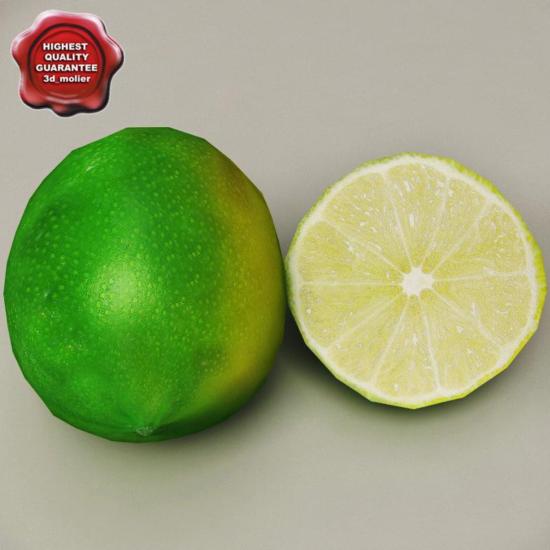 3d limes modelled