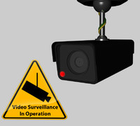 cinema4d cctv security camera