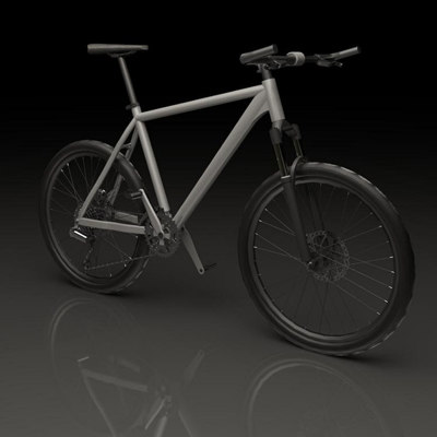 3ds max mountainbike bike