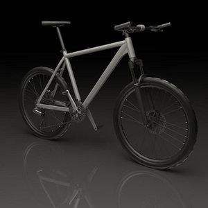 3ds max mountainbike bike