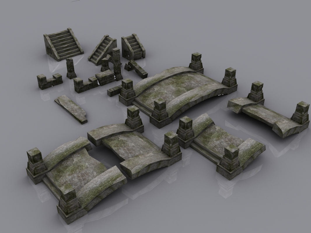 ruins polygons x