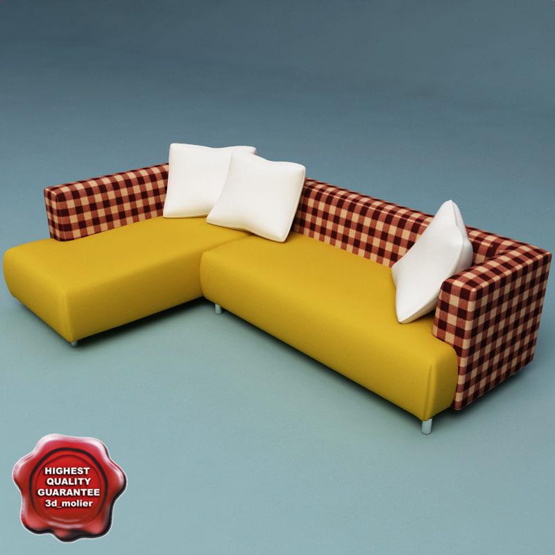 3d sofa v10 model