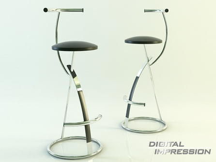 place chair dxf