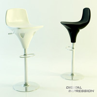 3d place chair model