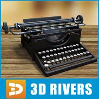 Typewriter 02 by 3DRivers
