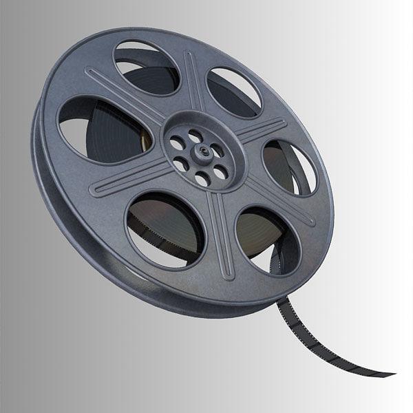 3d film reel