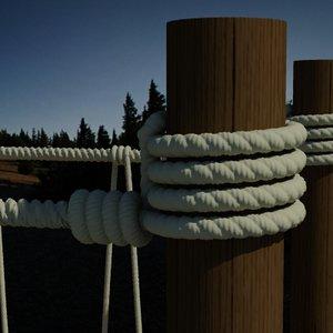3d model hang bridge