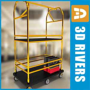 luggage cart max