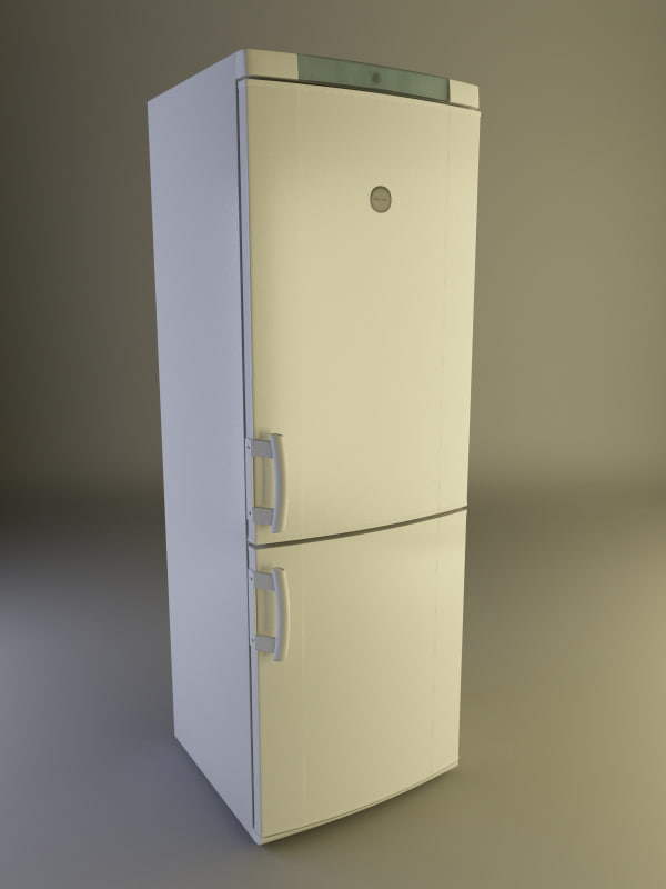 electrolux refrigerator 3d max