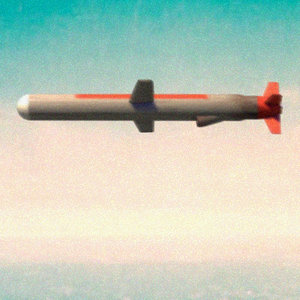 3d tomahawk cruise missile model