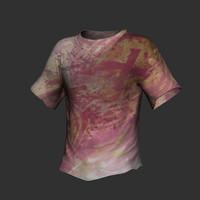 3d model t-shirt shirt