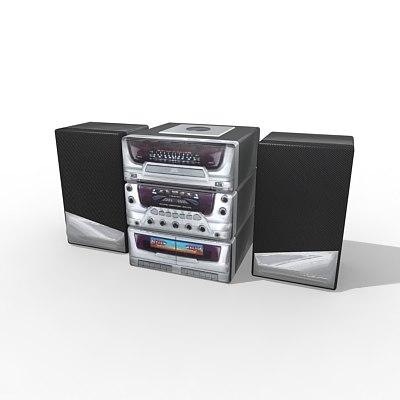 3d model of music