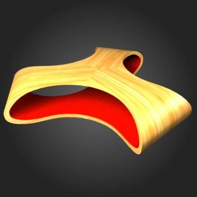 3d wood coffee table